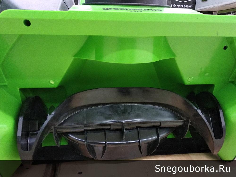 Шнек аккумуляторного снегоуборщика